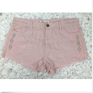 Love, Fire Cut Offf Short Size 13 Pink 5 Pockets